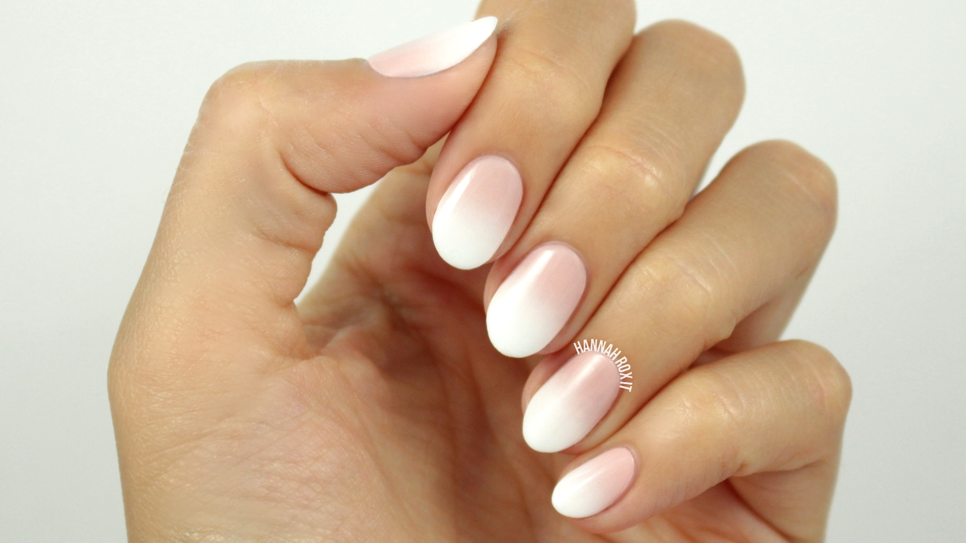 Tutorial Faded French Manicure