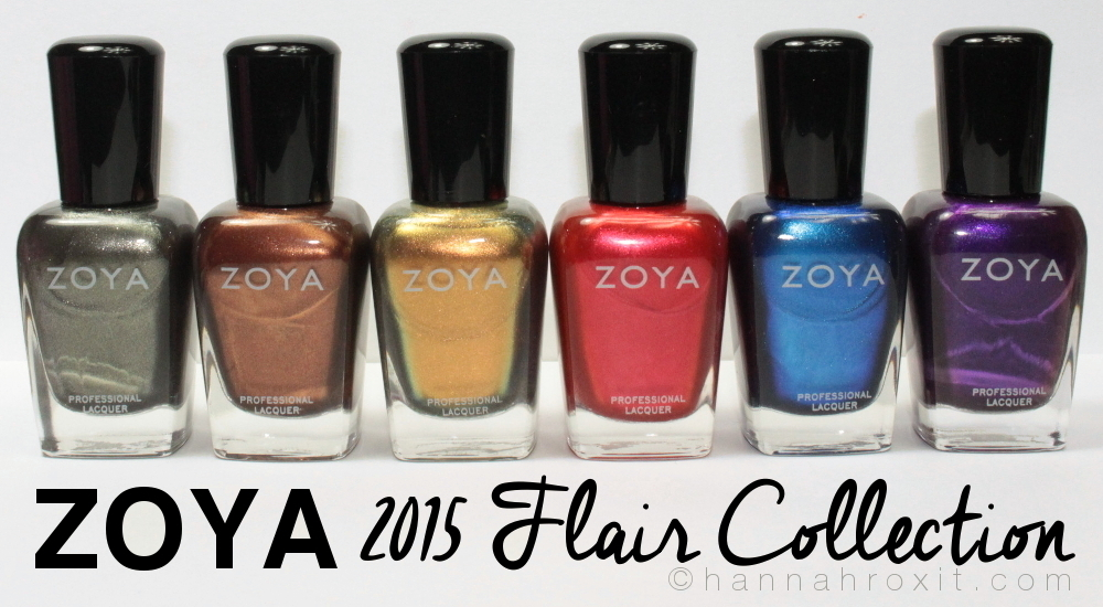 ZOYA 2015 Flair Collection – Review & Swatches