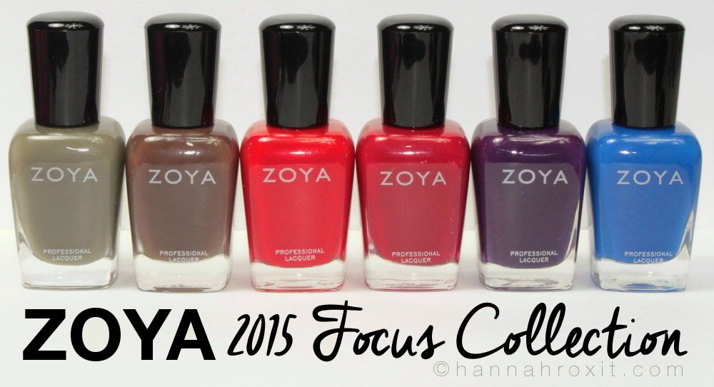 ZOYA 2015 Focus Collection – Review & Swatches