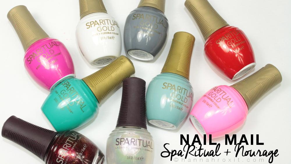 Nail Mail: SpaRitual & Nourage