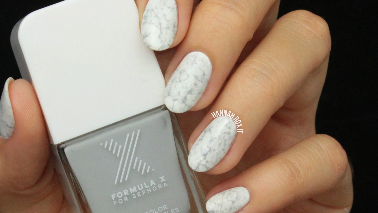 Tutorial: Stone Marble Nail Art – Hannah Rox It