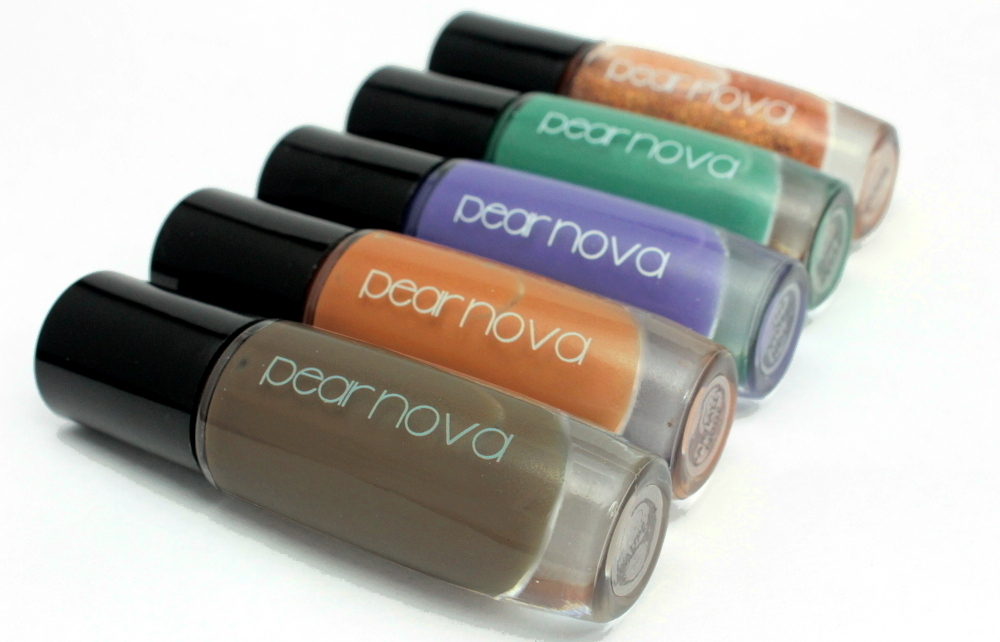 Pear Nova Fall 2015 Collection – Swatches & Review