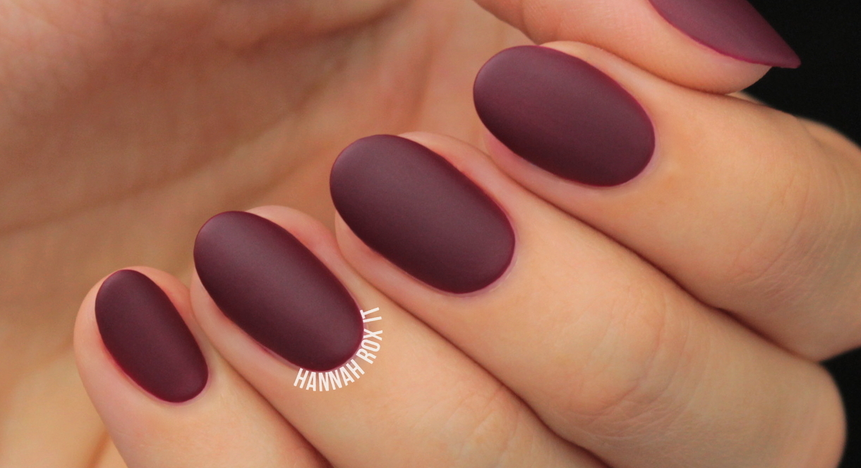 How To Get The Perfect Matte Manicure