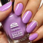 Grape Gatsby from sallyhansens Complete Salon Manicure line is suchhellip