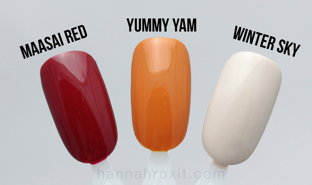 Sally Hansen Tracy Reese Fall 2015 Nail Collection