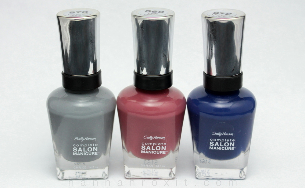 Sally Hansen Parbal Gurung Fall 2015 Nail Collection