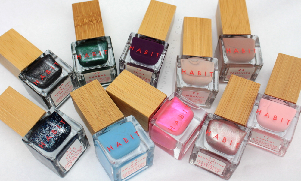 Nail Mail: Habit Cosmetics Review & Swatches