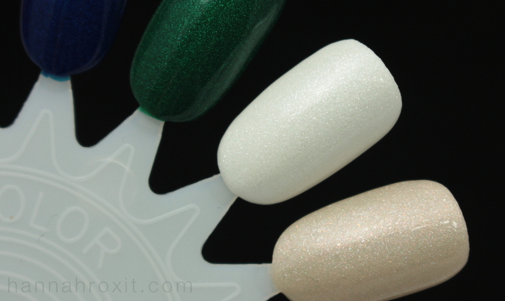 Zoya Winter/Holiday 2015 Matte Velvet Collection Swatches