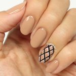 Im wearing In Nudetral with a crisscross accent nail usinghellip