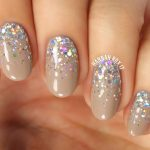 Glitterfall nails from the video I just posted!  Ihellip