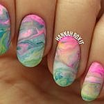 Tutorial: LUSH Bath Bomb Inspired Nails