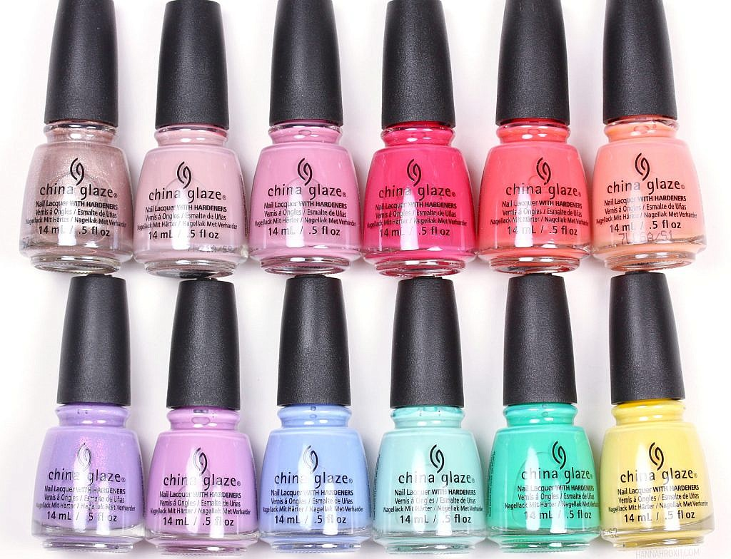 nail polish swatches – Hannah Rox It