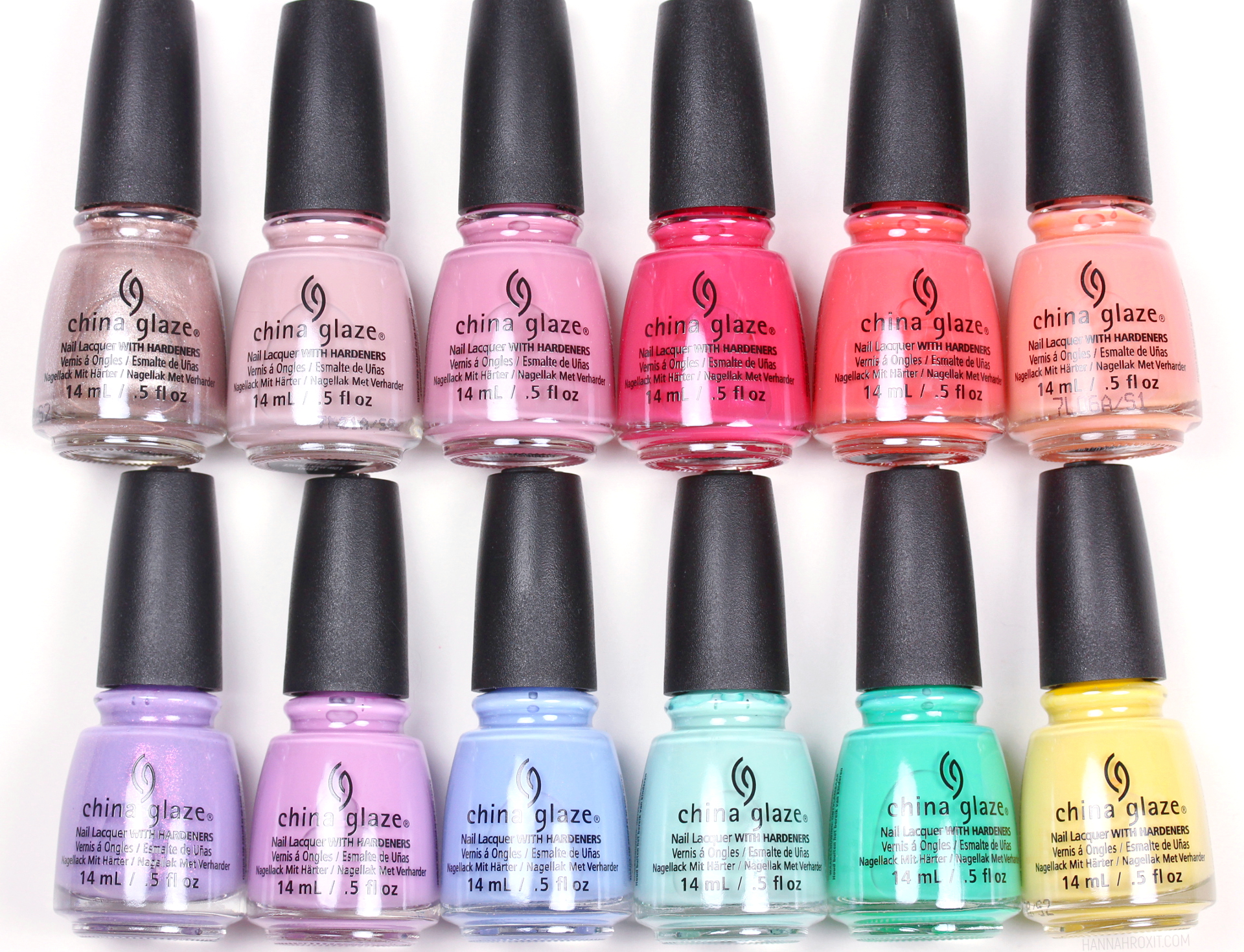 China Glaze Chic Physique Spring 2018 Review & Swatches – Hannah Rox It