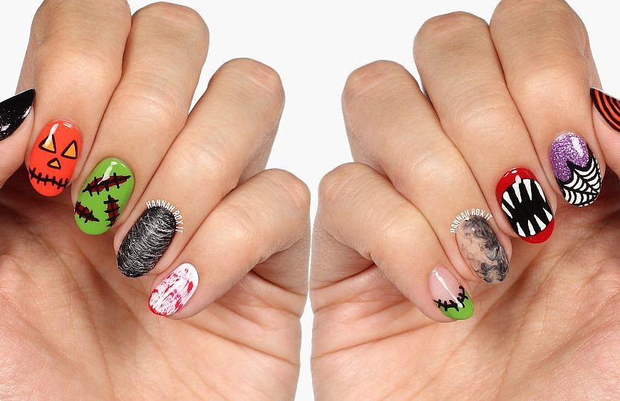 Hannah Rox It Nail Art Tutorials Nail Polish Swatches Nail