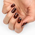 Tortoise Shell Nail Art Tutorial without Gel