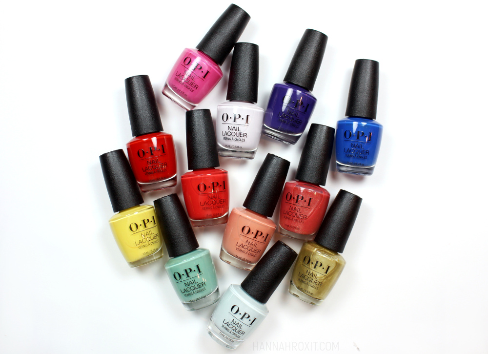 OPI Mexico City Spring 2020 Review & Swatches